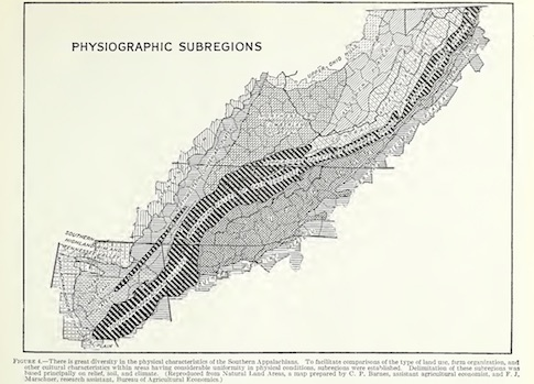 Where Is Appalachia Southern Appalachian English - Appalachia map