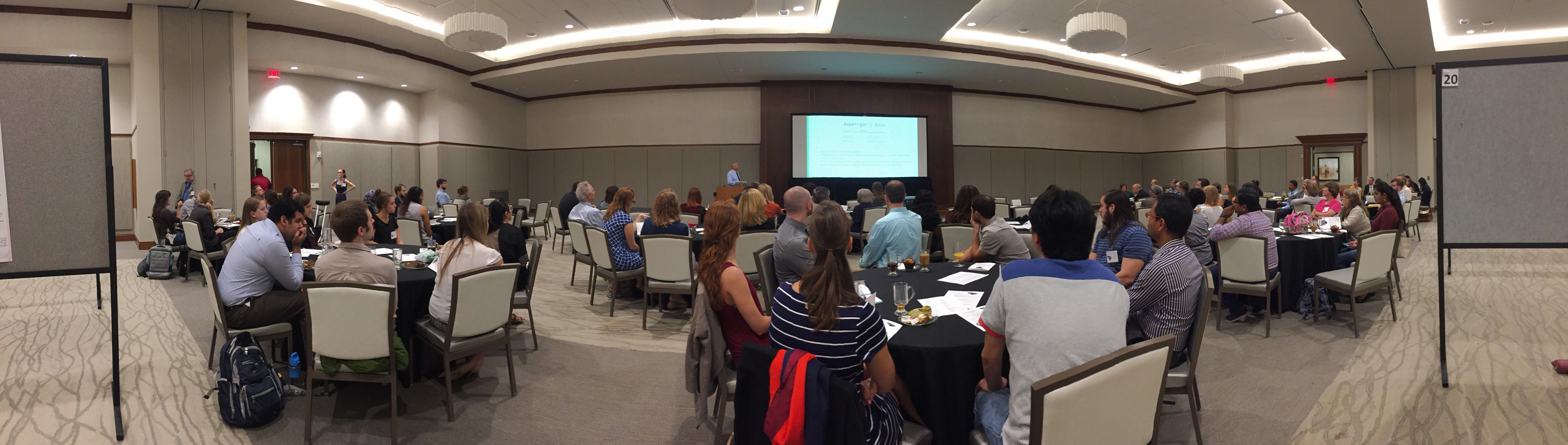 Image of the crowd at the 2017 SCAND Symposium in Charleson SC