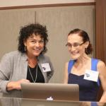 Dr. Jane Roberts and Jessica Escorcia